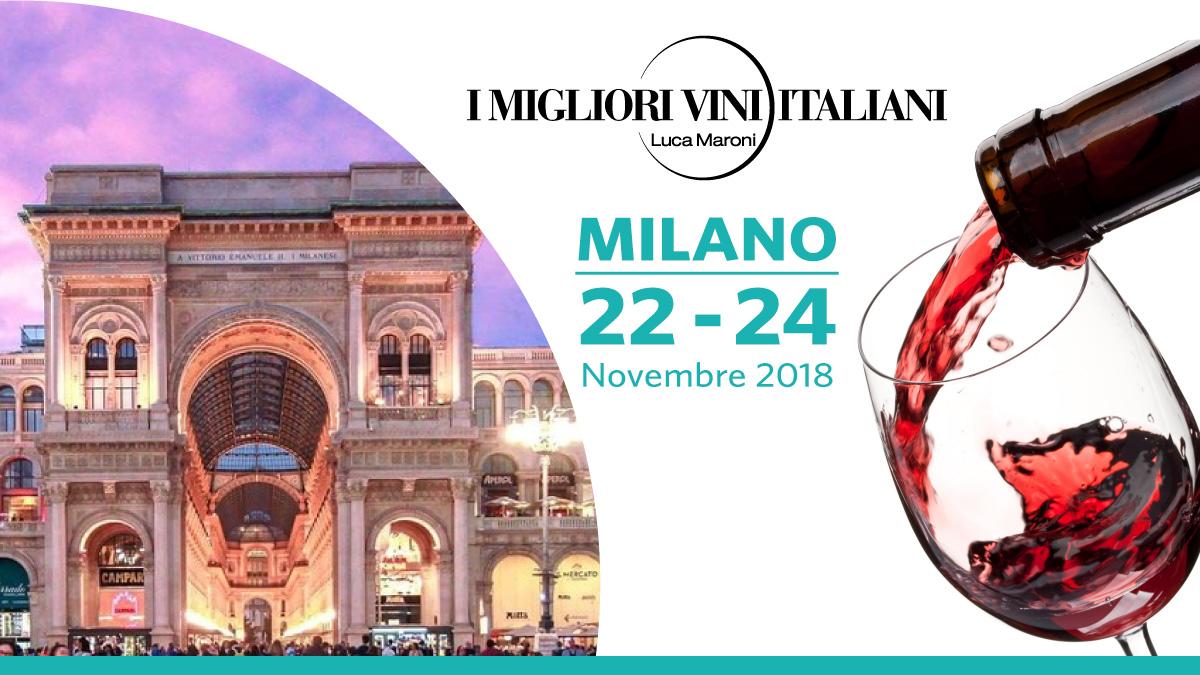 I Migliori Vini Italiani Milano 2018 organizzato da SENS Eventi