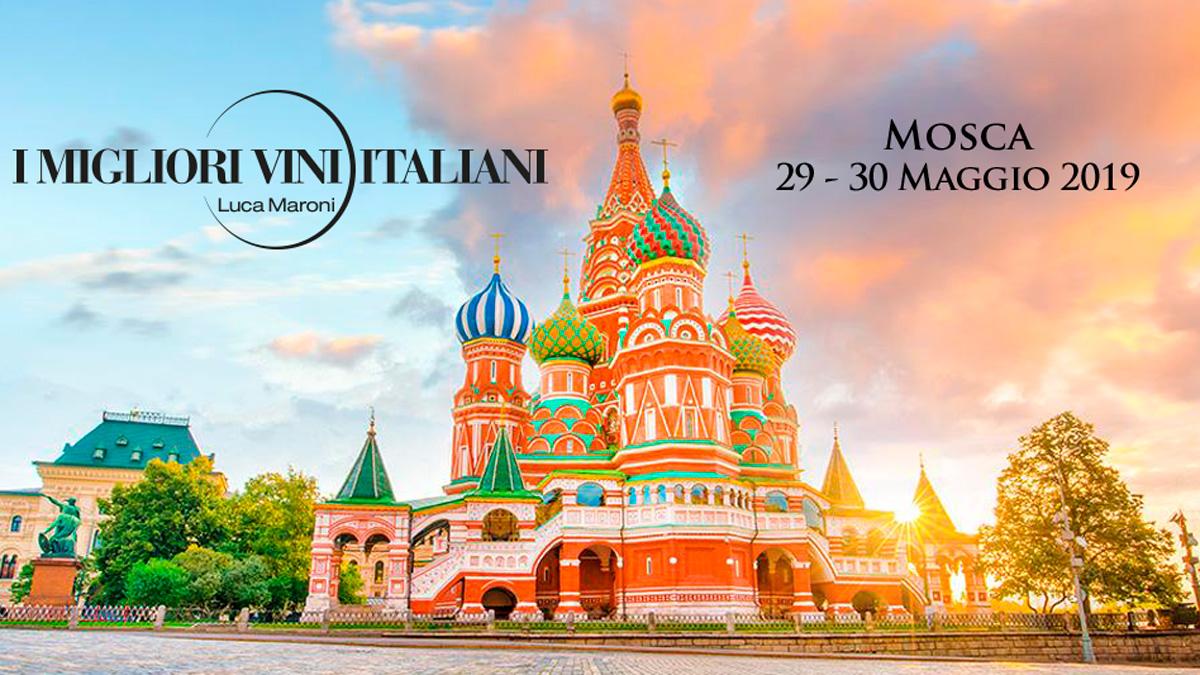 I Migliori Vini Italiani Mosca 2019 organizzato da SENS Eventi