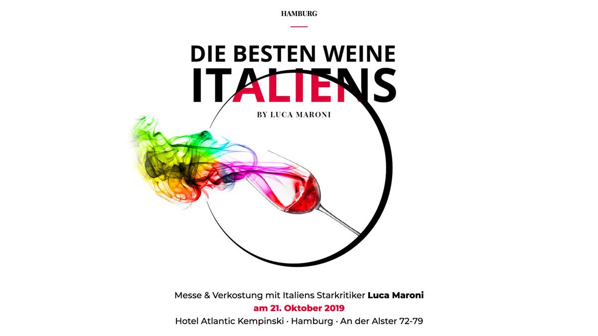 I Migliori Vini Italiani Amburgo 2019 business edition organizzato da SENS Eventi