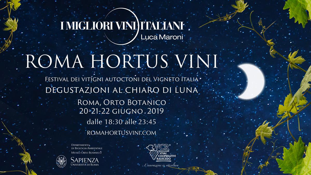 Roma Hortus Vini 2019 organizzato da SENS Eventi