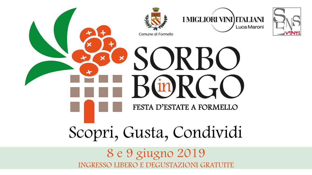 Sorbo in Borgo 2019 organizzato da SENS Eventi