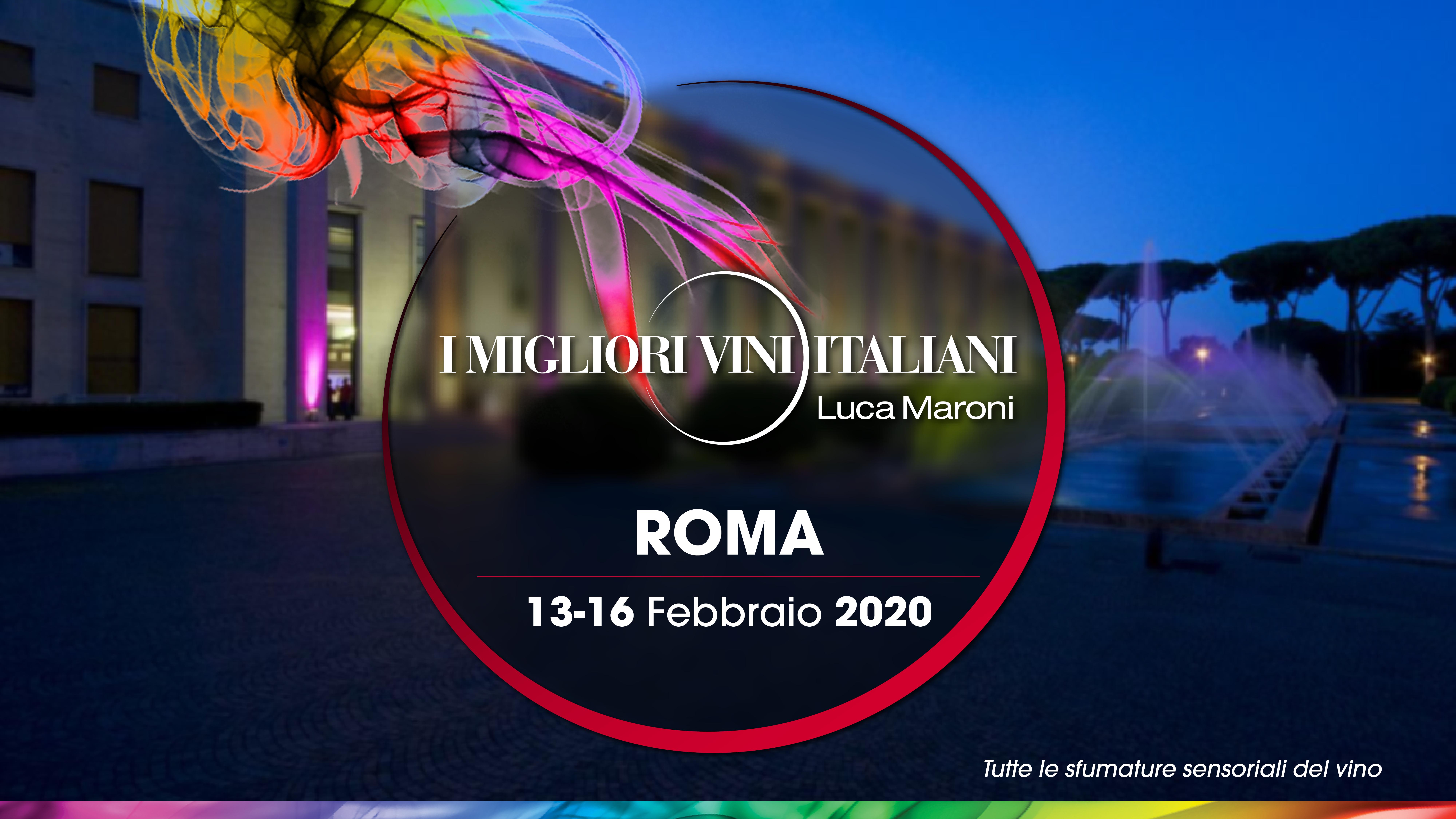 Salone delle Fontane dell'Eur I Migliori Vini Italiani Roma 2020 organizzato da SENS Eventi